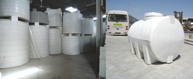 Polyethelene Water Tanks - Grp Water Tank Supplier in UAE , Grp
