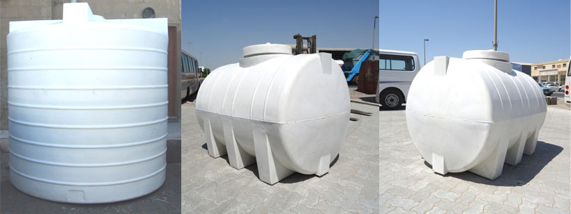 Polyethelene Water Tanks - Grp Water Tank Supplier in UAE